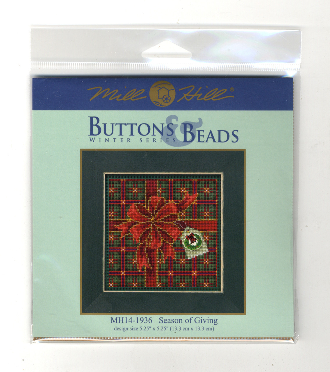 2019 Mill Hill Buttons & Beads Winter Series - Season of Giving