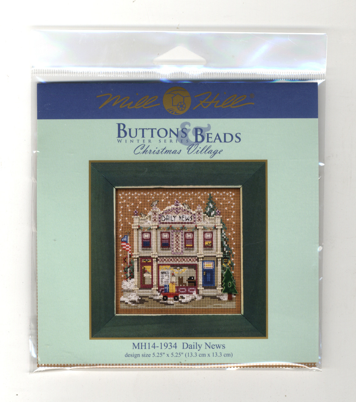 2019 Mill Hill Buttons & Beads Winter Series Set (6 Kits)