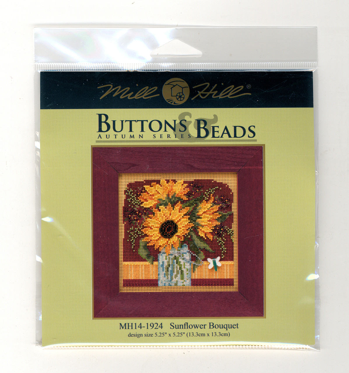2019 Mill Hill Buttons & Beads Autumn Series - Sunflower Bouquet