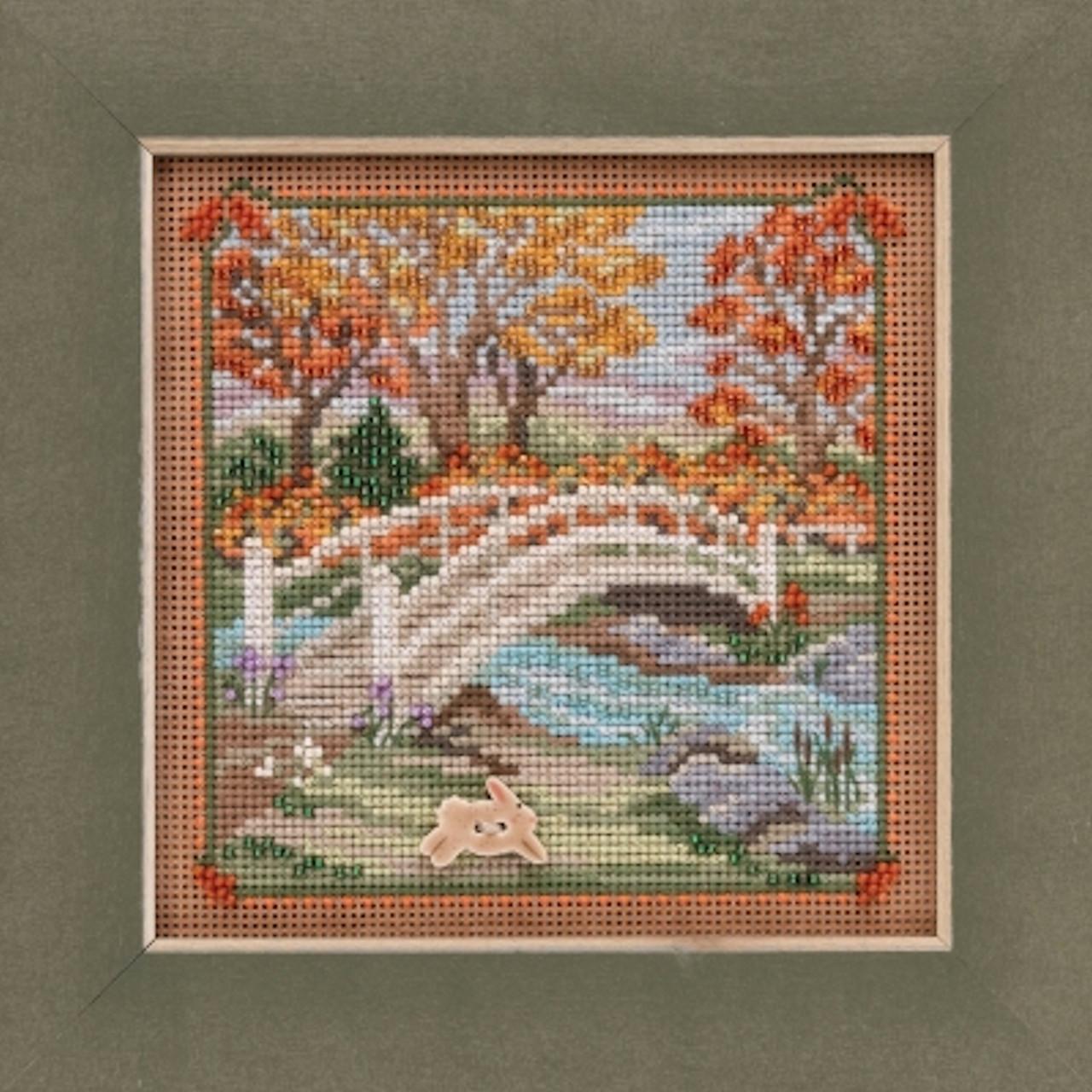 2019 Mill Hill Buttons & Beads Autumn Series - Foot Bridge