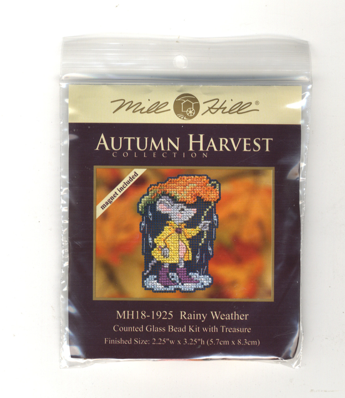 Mill Hill 2019 Autumn Harvest Collection - Rainy Weather Ornament