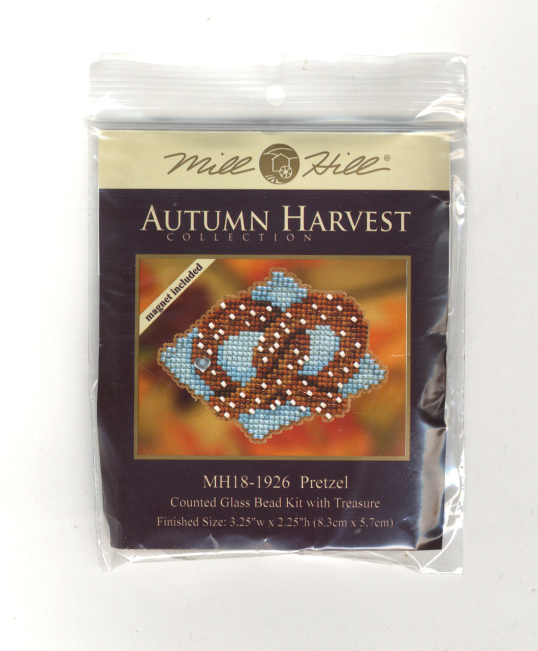 Mill Hill 2019 Autumn Harvest Collection - Pretzel Ornament