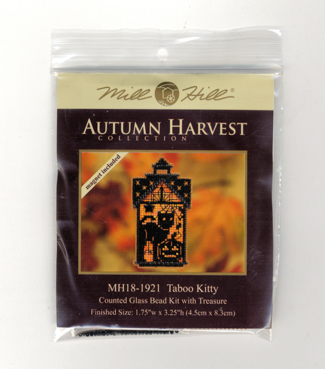 2019 Mill Hill Autumn Harvest Collection Ornament Set (6 Kits)