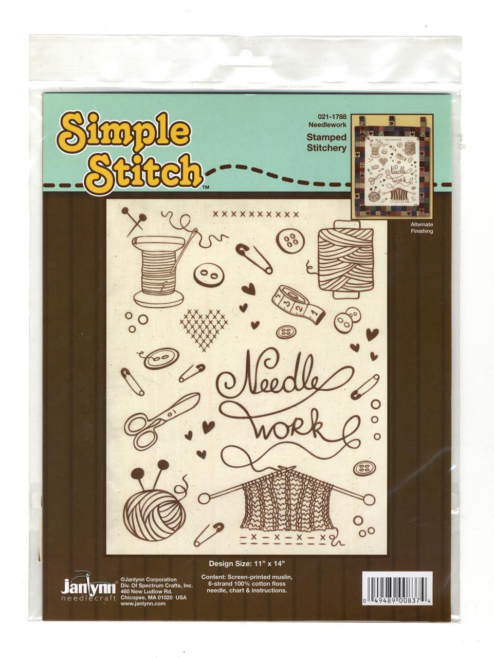 "Janlynn ""Simple Stitch"" - Needlework"