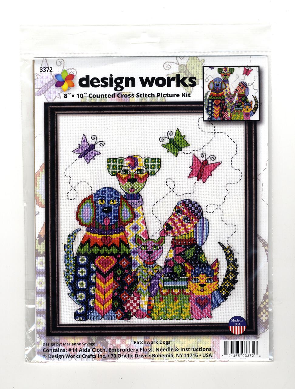 Design Works - Patchwork Dogs