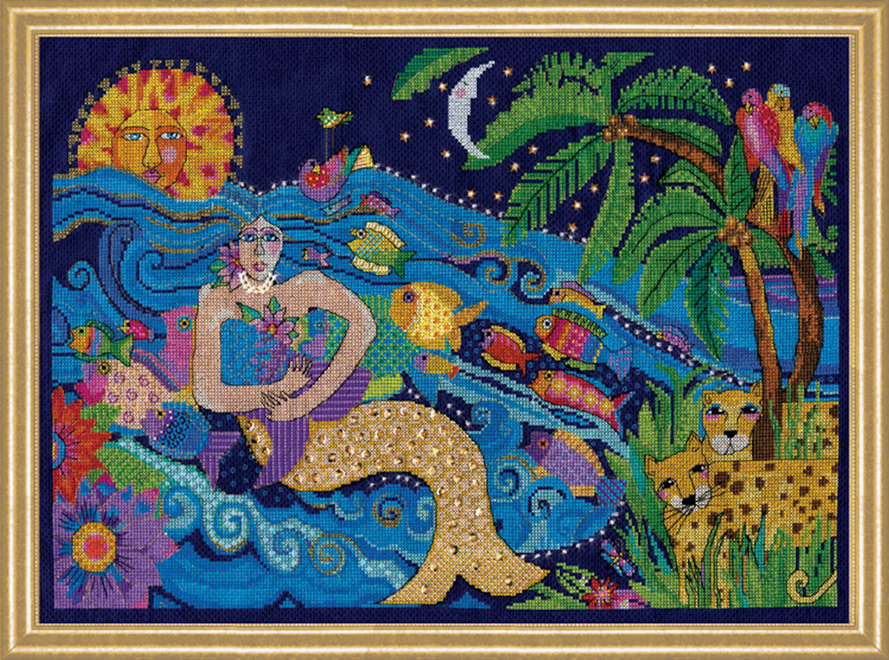Design Works - Laurel Burch Mermaid