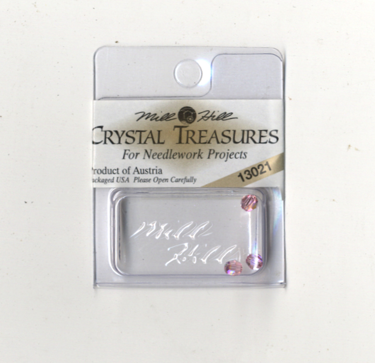 Mill Hill Crystal Treasures - Round Bead Light Rose AB
