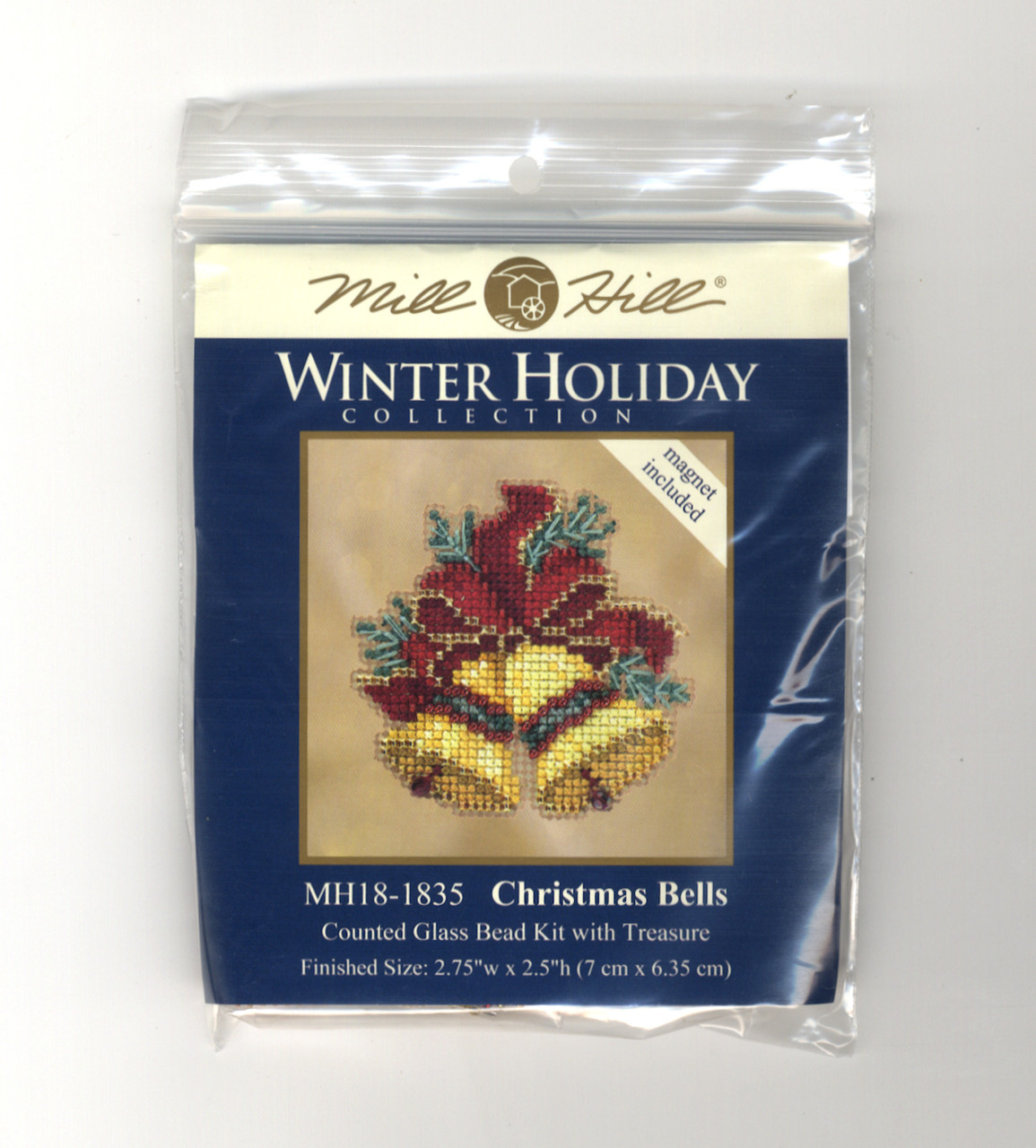 Mill Hill 2018 Winter Holiday Collection - Christmas Bells Ornament