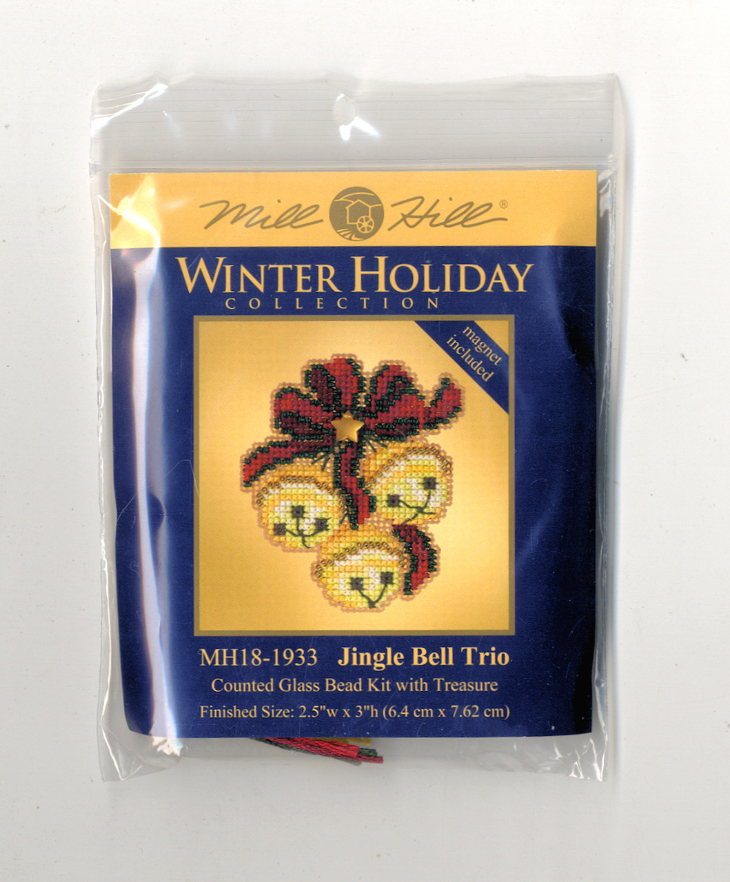 2019 Mill Hill Winter Holiday Collection Ornament Set (6 Kits)