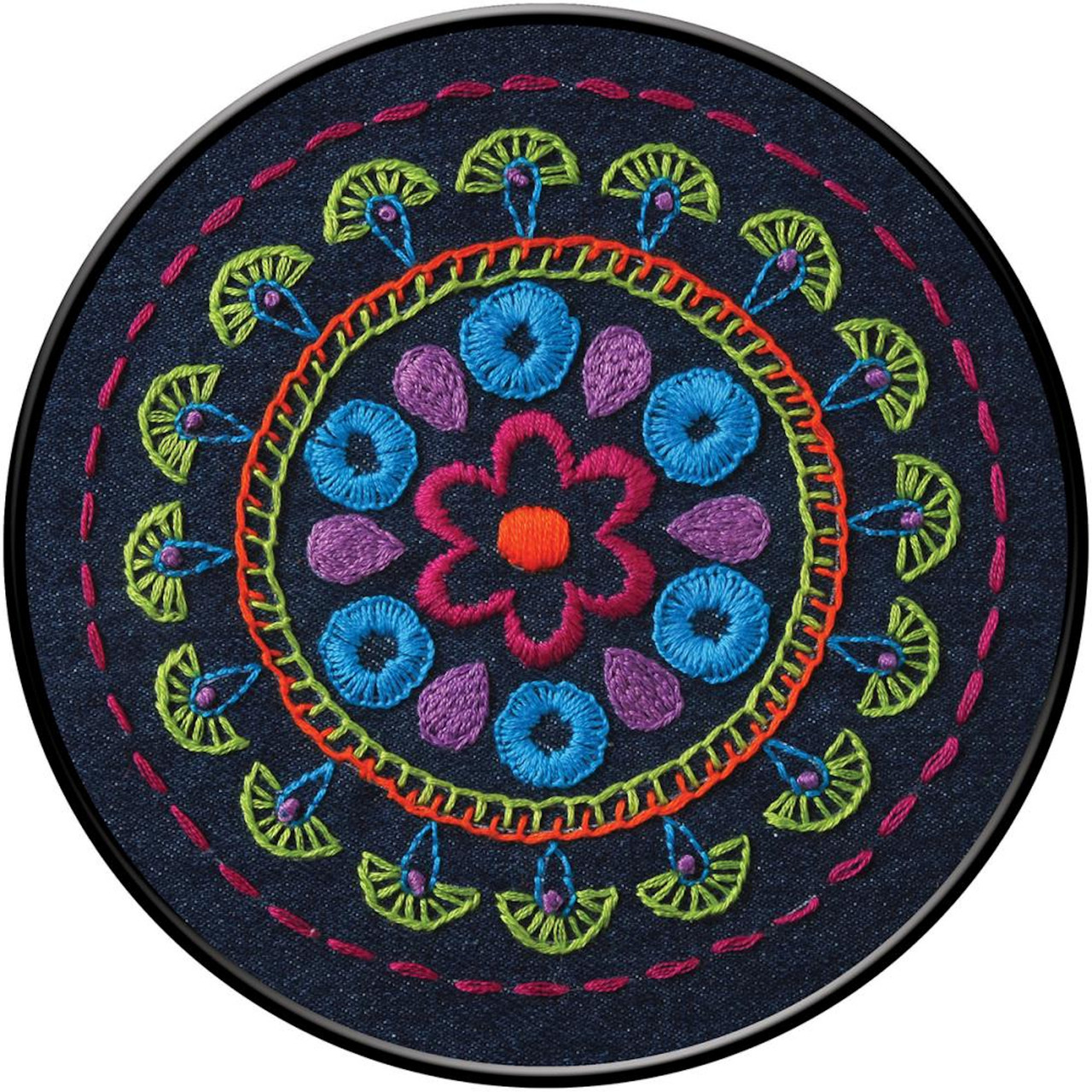 Plaid / Bucilla - Tribal Medallion