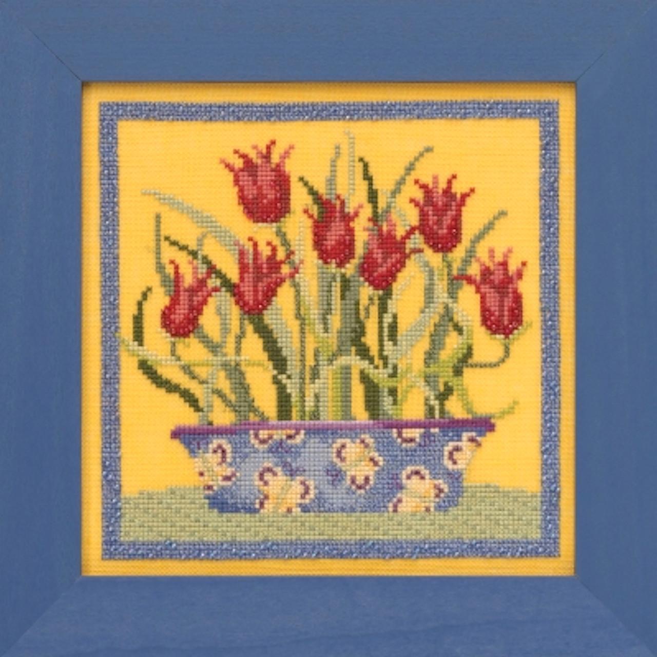 Mill Hill 2019 Debbie Mumm Blooms & Blossoms - Tulips