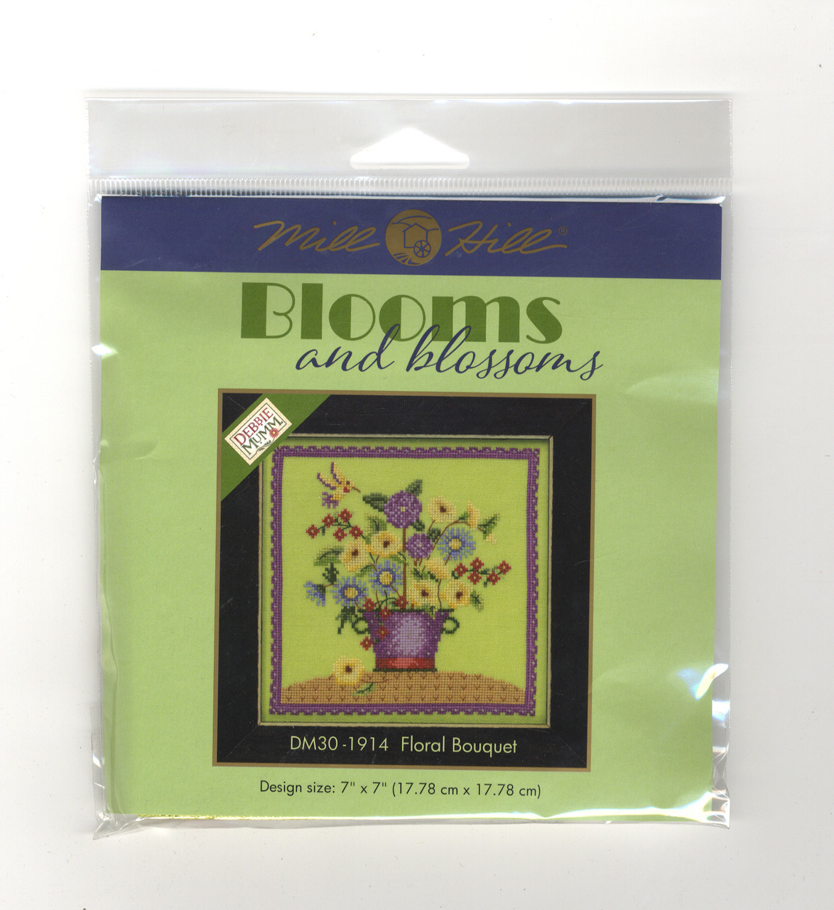 2019 Mill Hill Debbie Mumm Blooms & Blossoms Series (Set of 4 Kits)