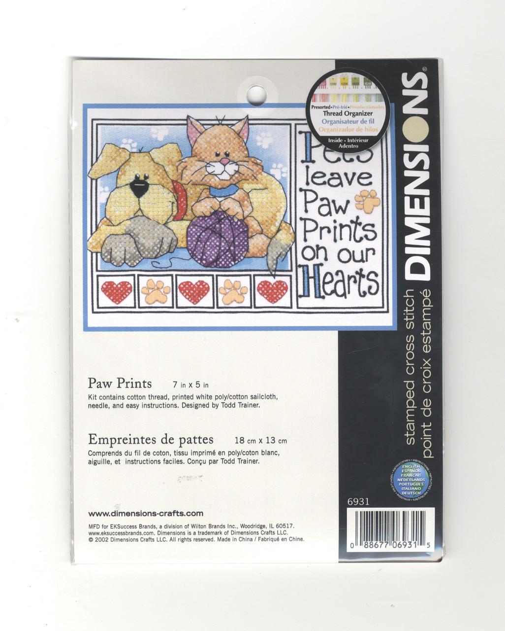 Dimensions Minis - Paw Prints