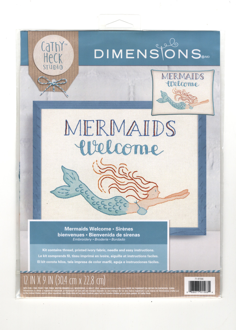 Dimensions - Mermaids Welcome