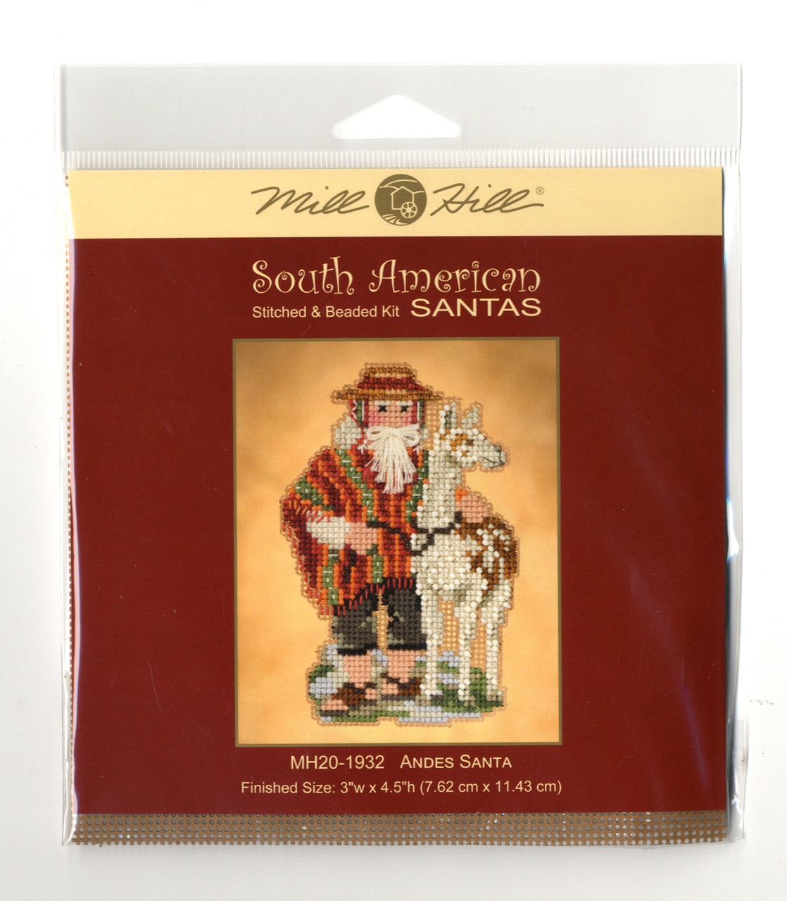 2019 Mill Hill South American Santas Trio (Set of 3 Kits)