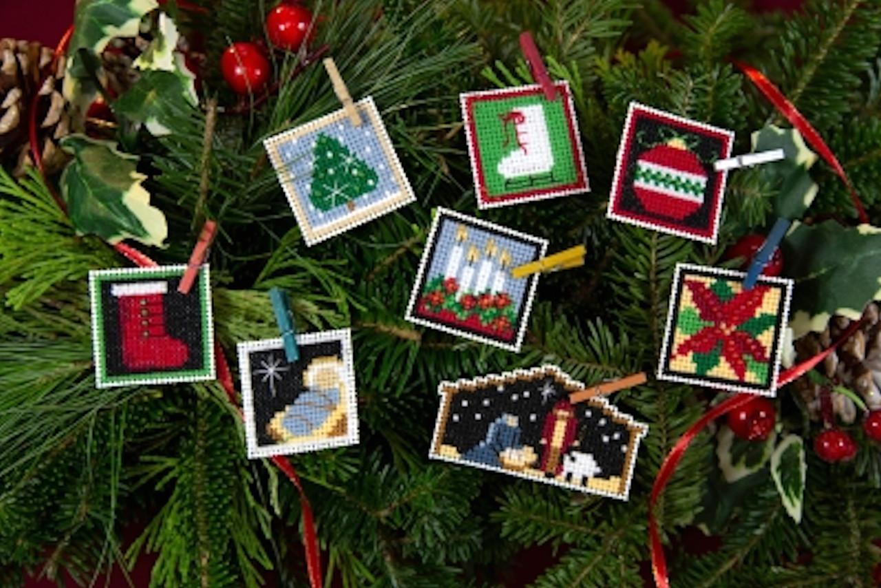 Mill Hill 2019 Advent Trilogy Ornaments - Set Three