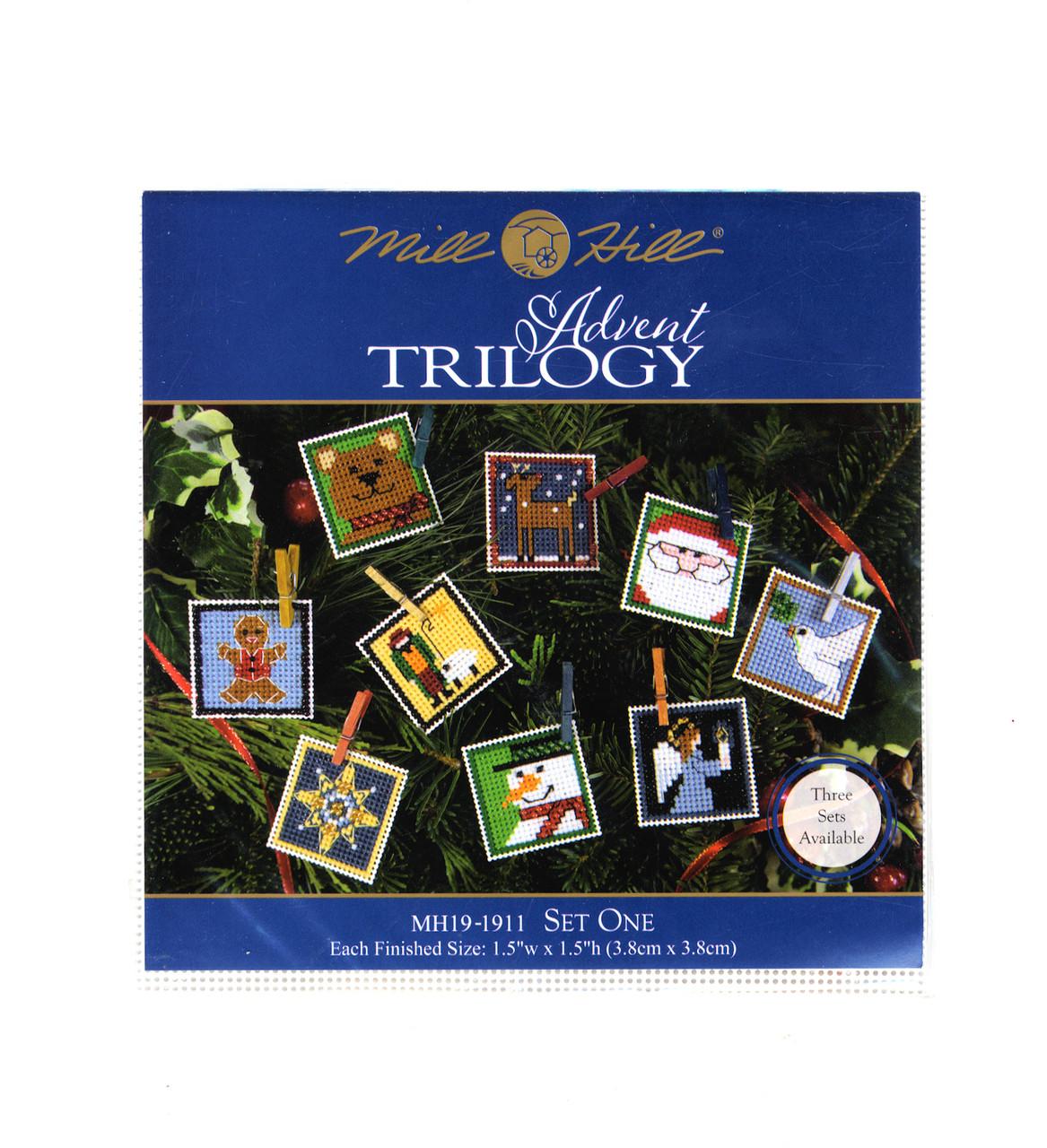 2019 Mill Hill Advent Trilogy (Set of 3 Kits)
