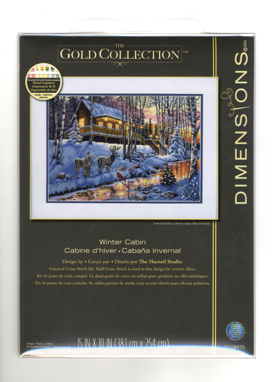 Gold Collection - Winter Cabin