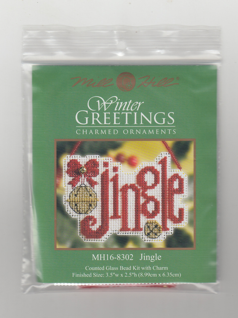 Mill Hill 2008 Winter Greetings Charmed Ornament - Jingle