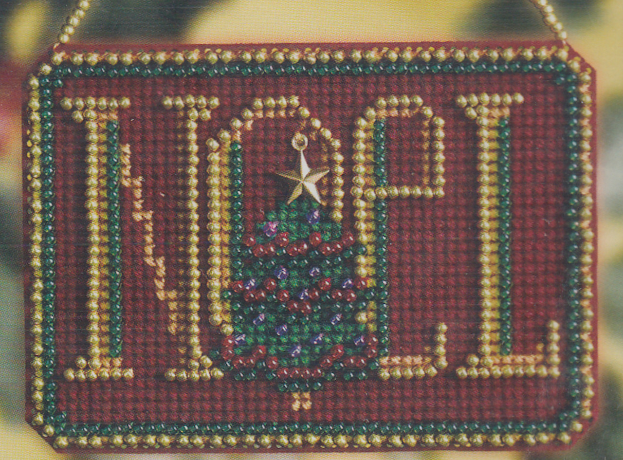 Mill Hill 2008 Winter Greetings Charmed Ornament - Noel