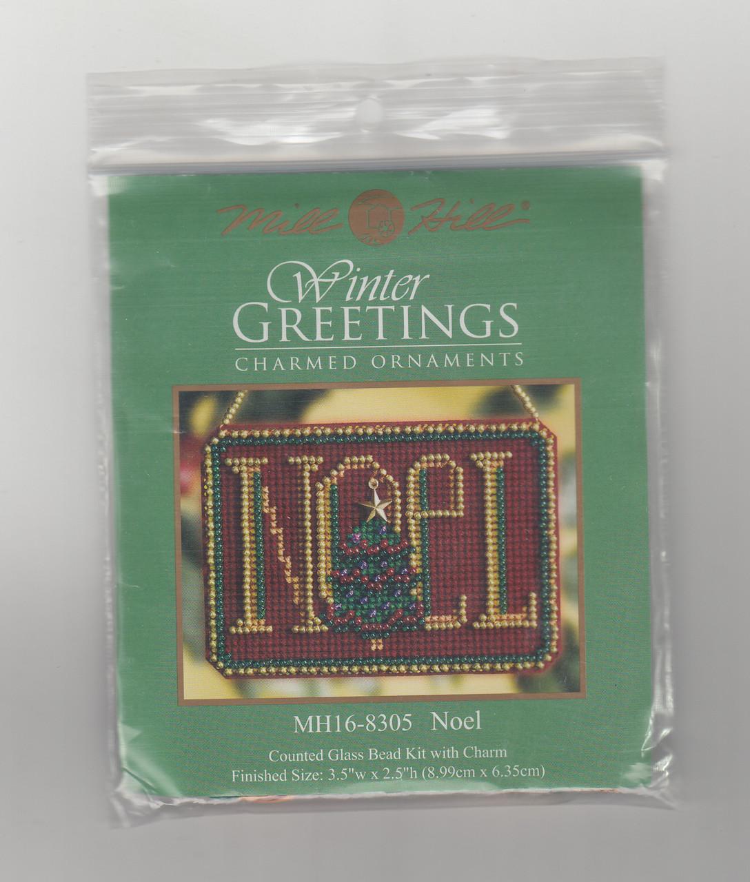 Mill Hill 2008 Winter Greetings Charmed Ornament - Noel