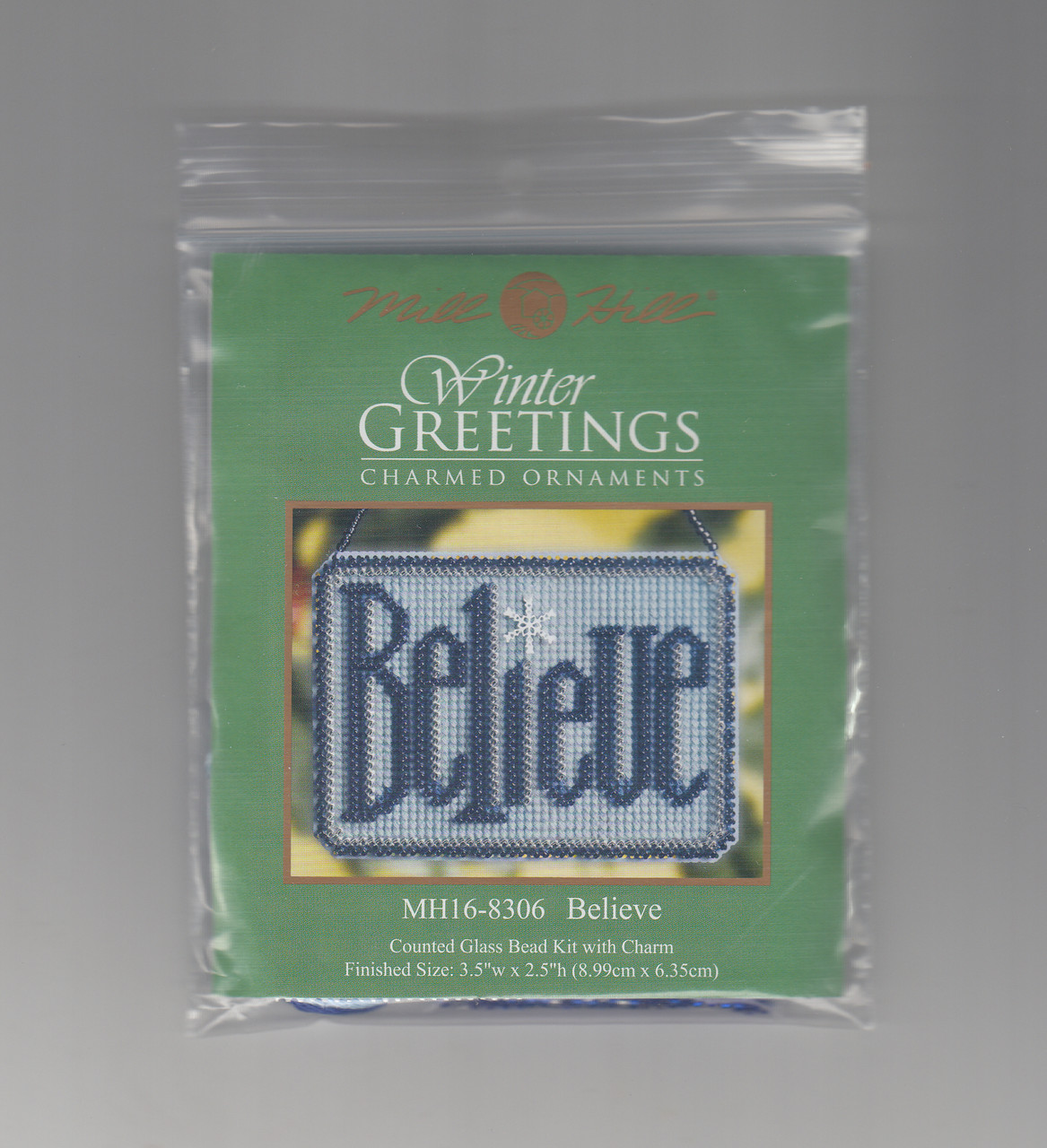 Mill Hill 2008 Winter Greetings Charmed Ornament - Believe