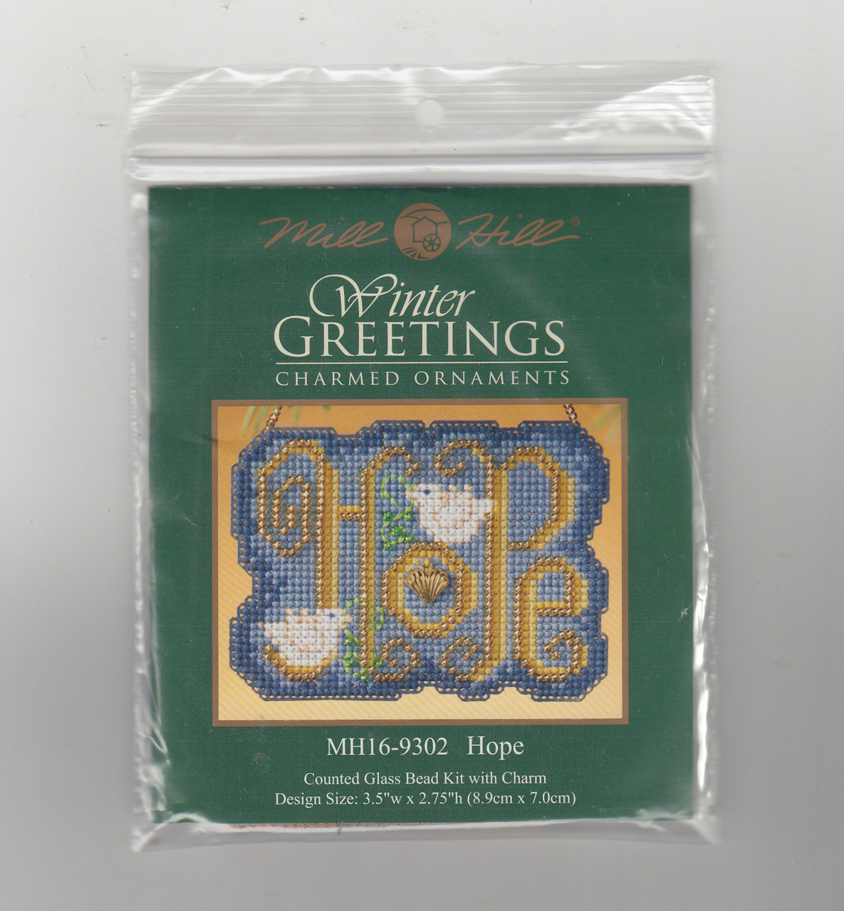 Mill Hill 2009 Winter Greetings Charmed Ornament - Hope