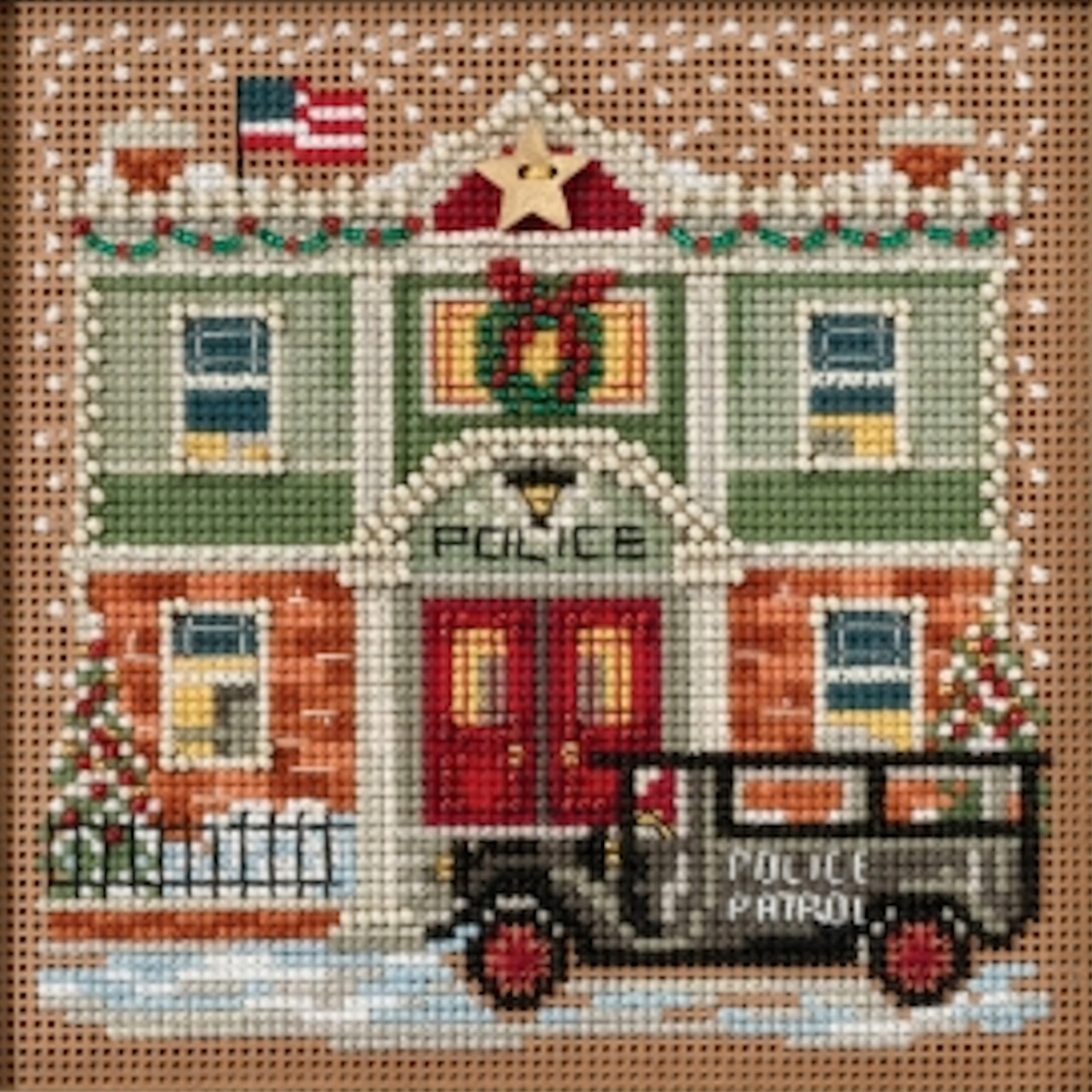 2017 Mill Hill Buttons & Beads Winter Series - Police Station