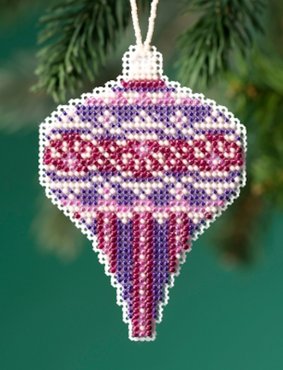 Mill Hill 2019 Beaded Holiday Ornament - Amethyst Pearl
