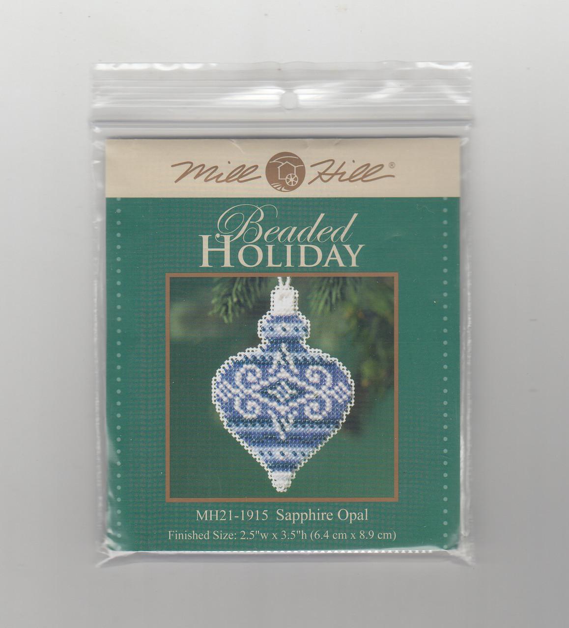 2019 Mill Hill Beaded Holiday Ornament Set (6 Kits)