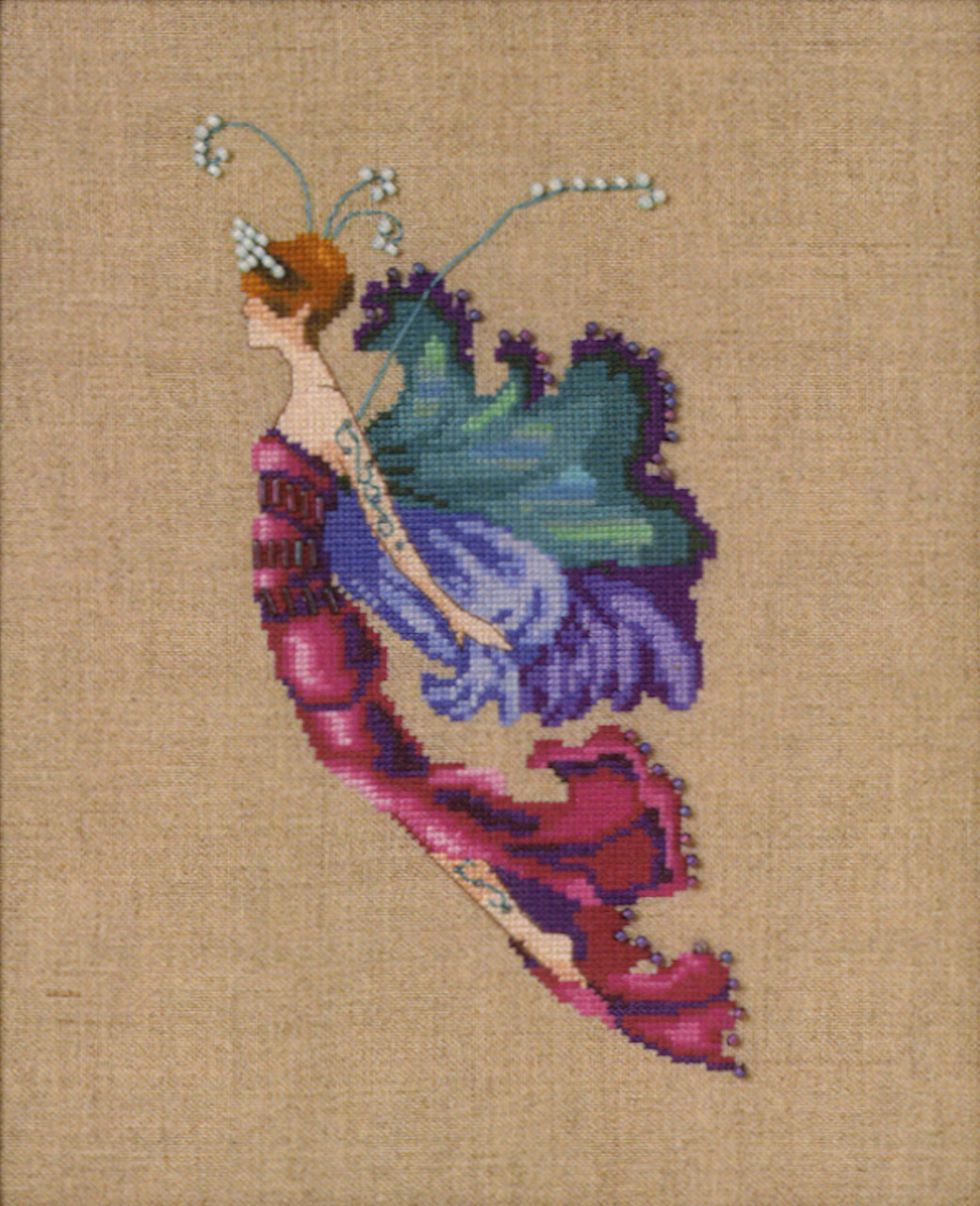 Nora Corbett Embellishment Pack  - Red Cabbage Sprite