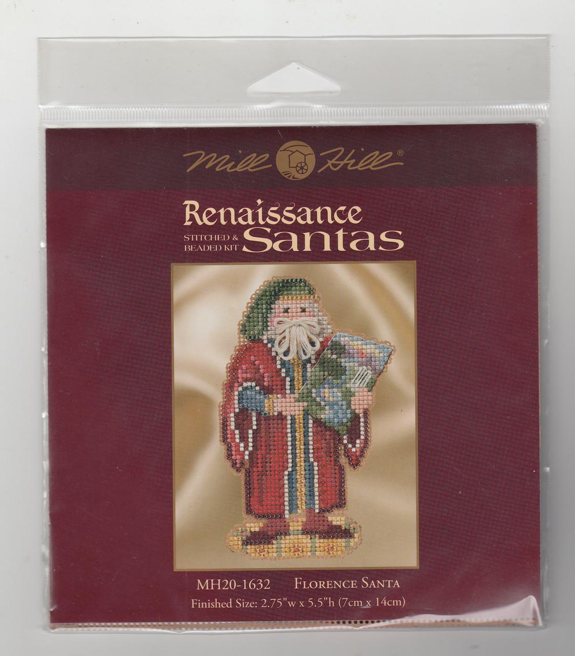 2016 Mill Hill  Renaissance Santas Trio (Set of 3 Kits)