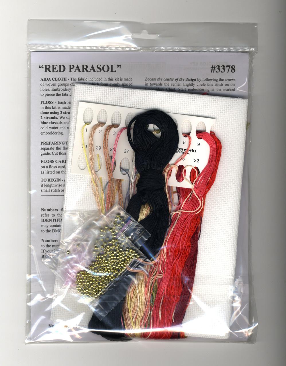 Design Works - Red Parasol