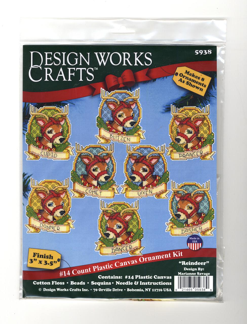 Design Works - Reindeer Ornaments