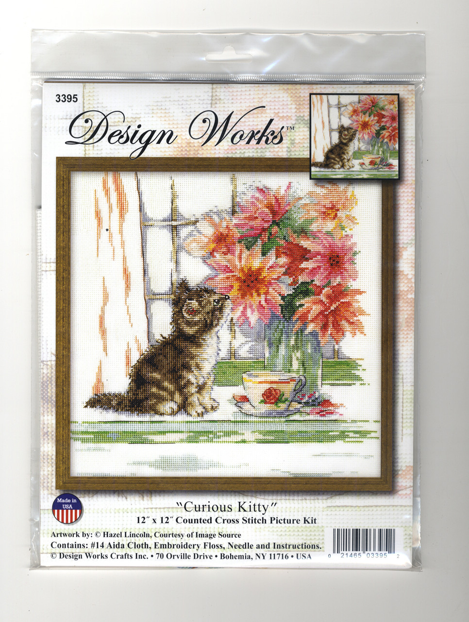 Design Works - Curious Kitty
