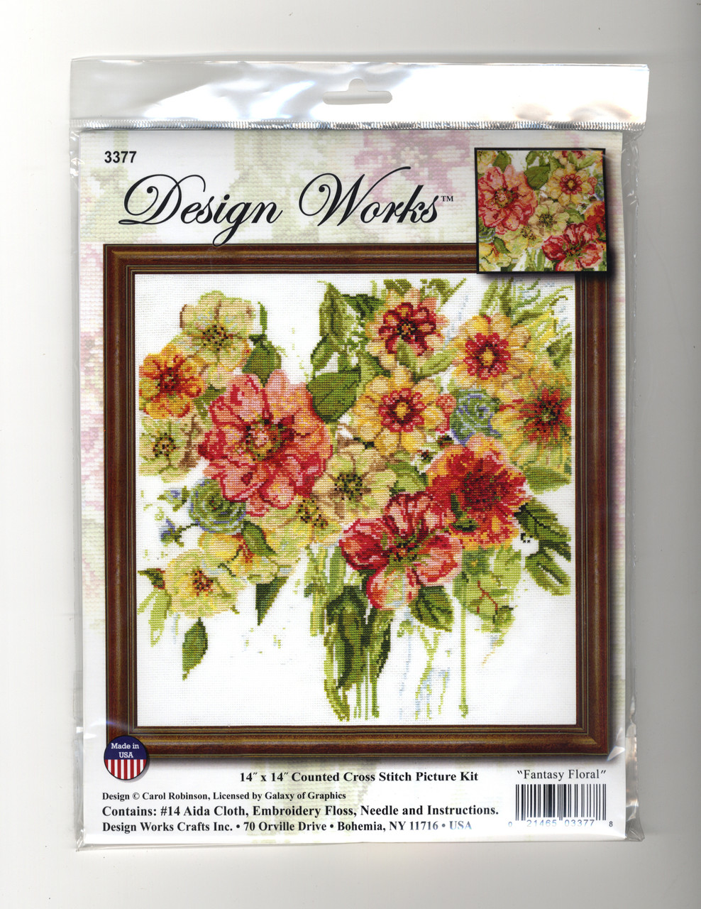 Design Works - Fantasy Floral