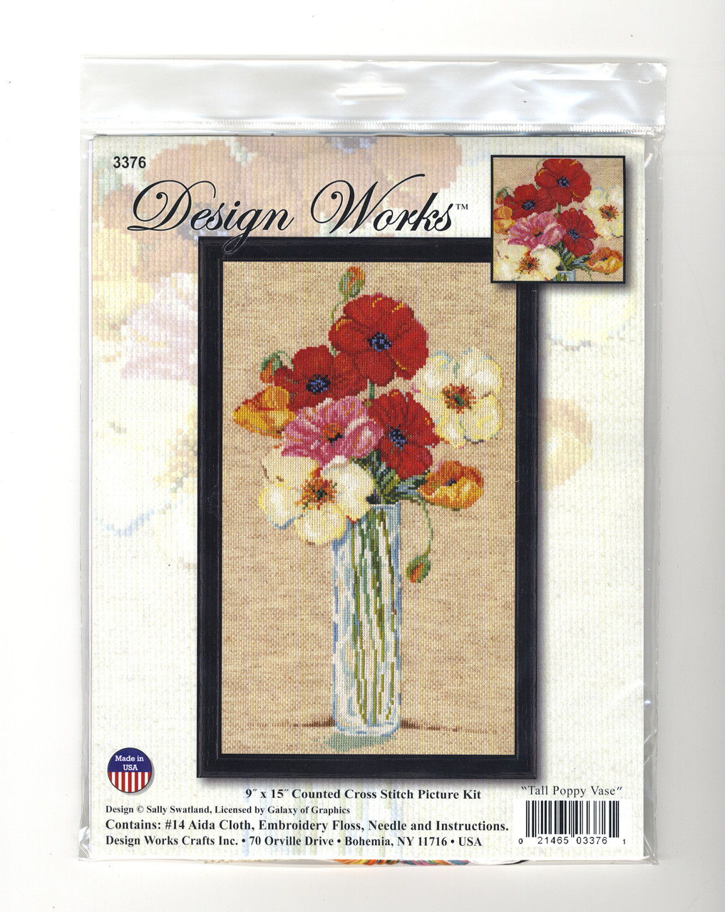 Design Works - Tall Poppy Vase