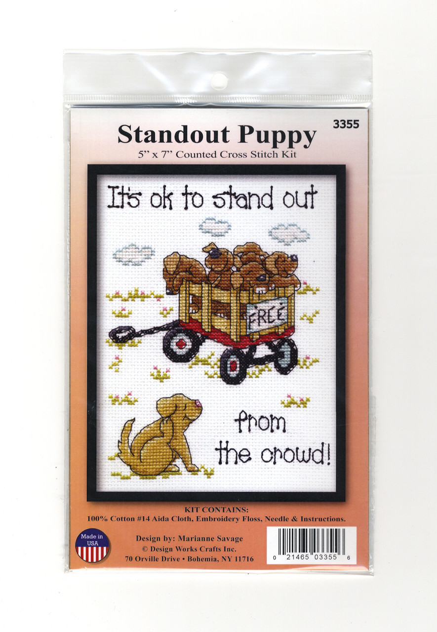 Design Works - Standout Puppy