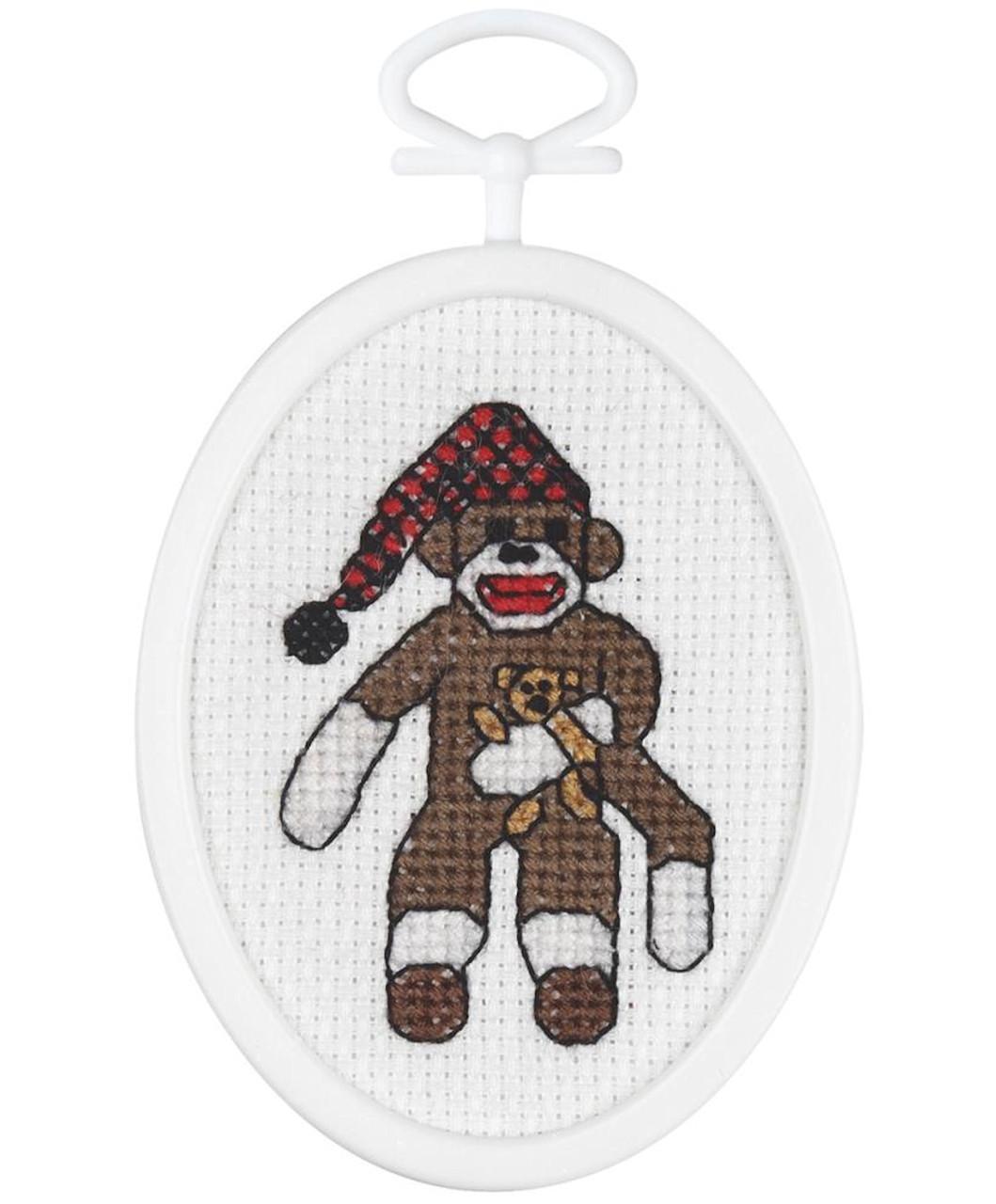 Janlynn Minis - Peejay Sock Monkey