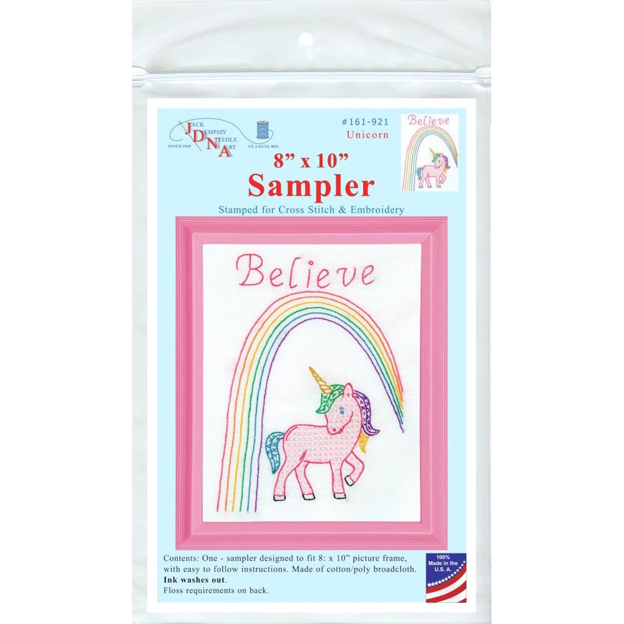 Jack Dempsey Needle Art - Believe Sampler