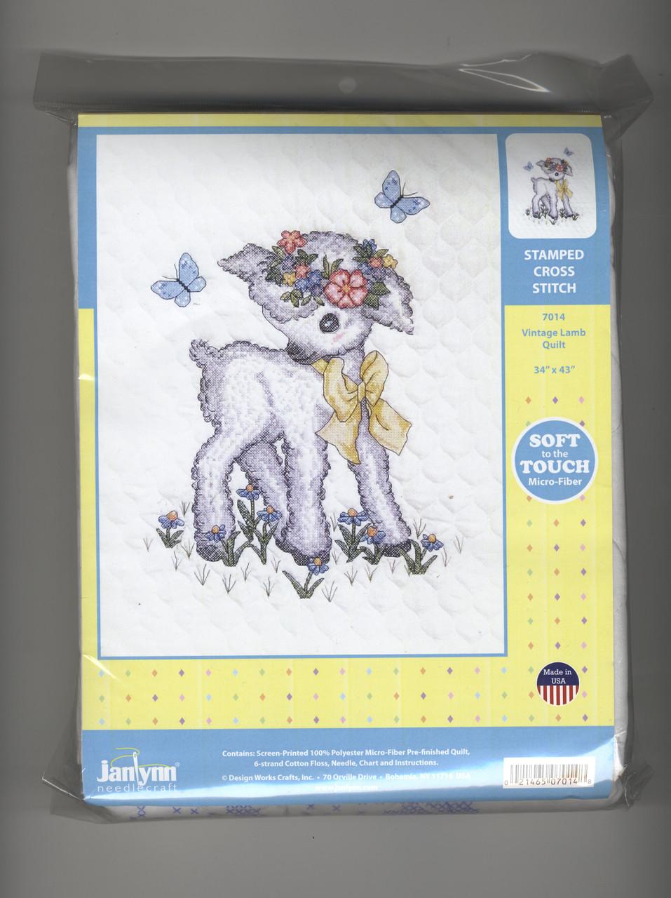 Janlynn - Vintage Lamb Quilt