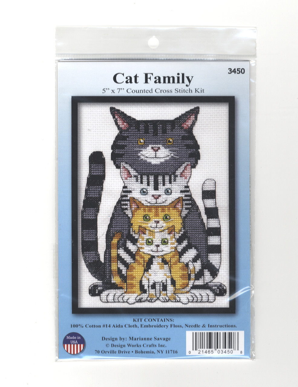 Design Works - Cat Family