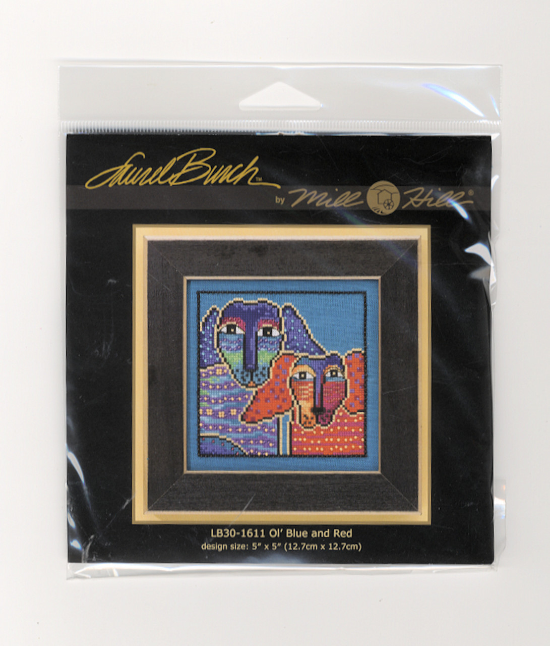 Mill Hill / Laurel Burch - Ol' Blue and Red (LINEN)