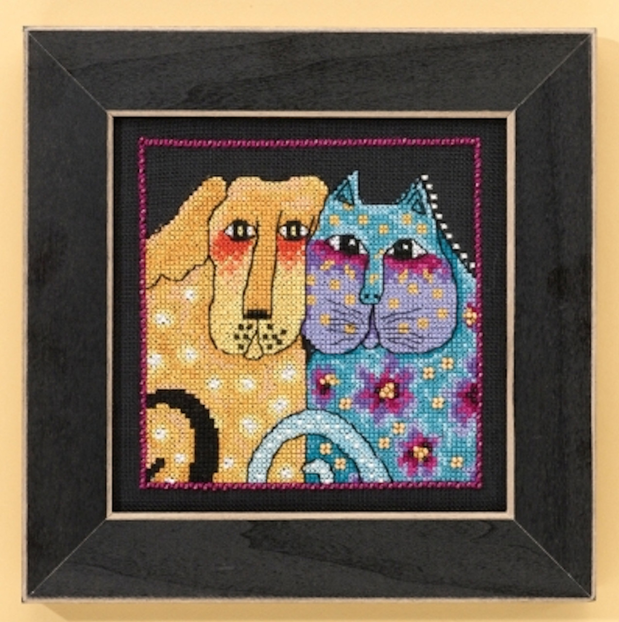 Mill Hill / Laurel Burch - Fur-ever Friends  (AIDA)