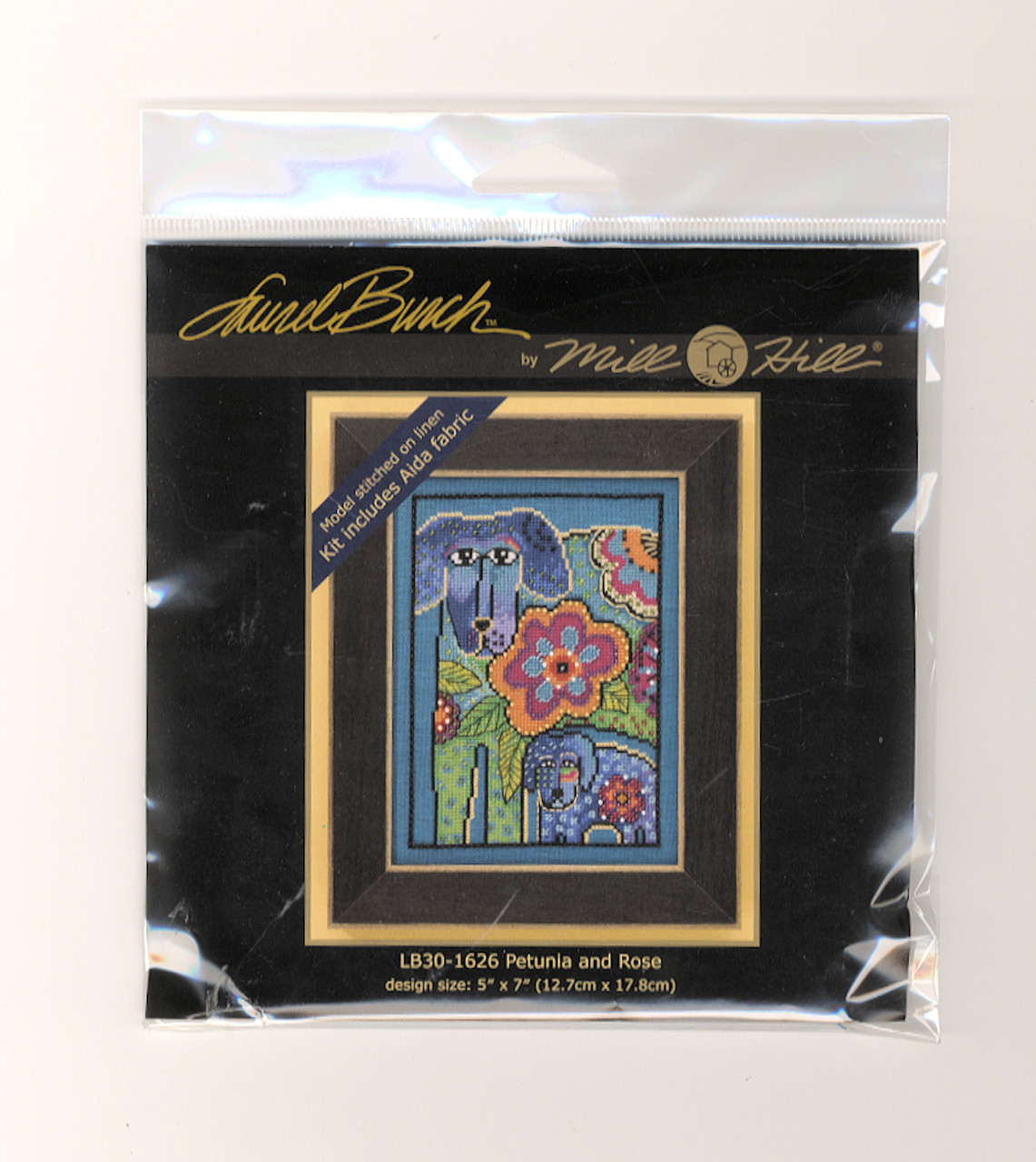 Mill Hill / Laurel Burch - Petunia and Rose (AIDA)