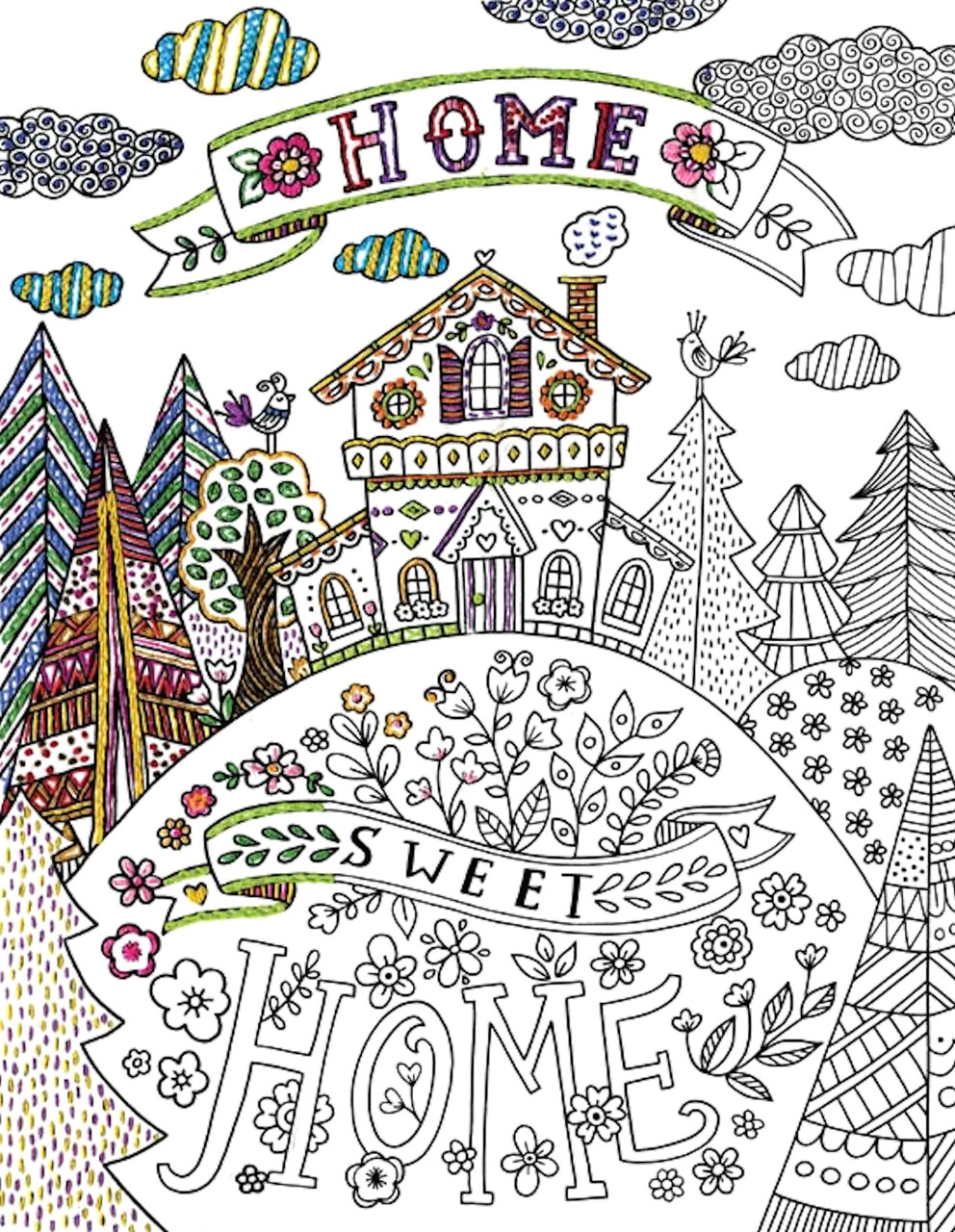 Design Works - Zenbroidery Home Sweet Home