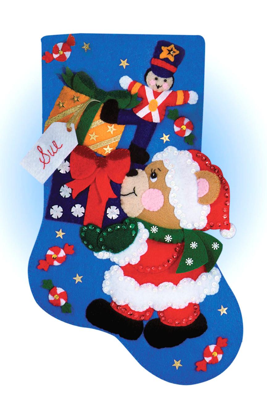 Design Works - Teddy Bear Stocking