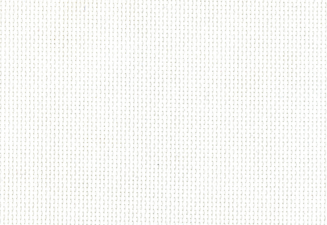 "Design Works - Silver Quality White 14 Count Aida Fabric 60"" x 36"""