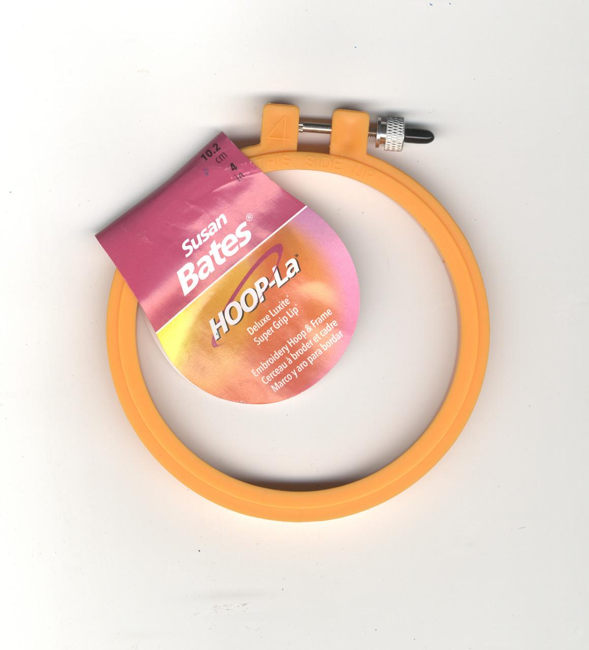 Susan Bates - 4 inch HOOP-La Deluxe Luxite Hoop (Random Color)