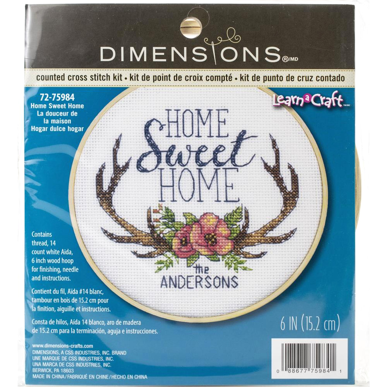 Dimensions Learn a Craft - Home Sweet Home